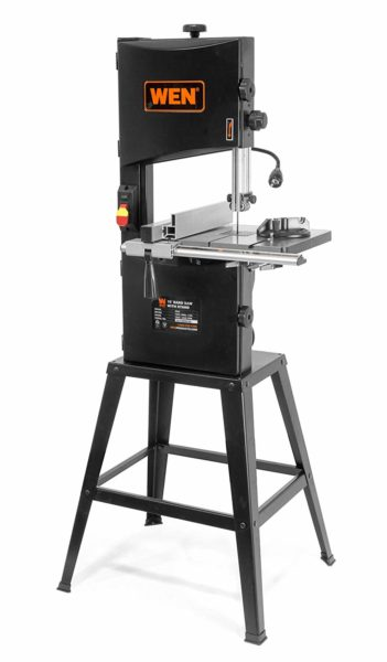 WEN 3962 Two-Speed Band Saw with Stand and Worklight, 10 Inch