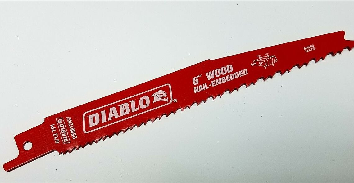 5 Best Blades for Reciprocating Saw and Buying Guide
